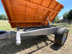 3 vägs hydraulisk tippvagn til traktor rm 14 t3