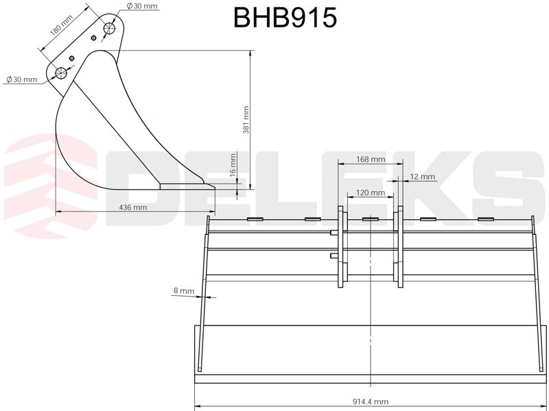 skopa-till-minigrävare-bhb-915
