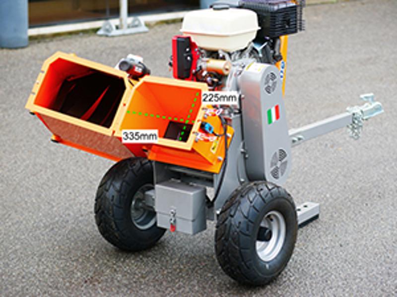 professionell-flishugg-motor-dk-800-honda