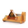 slagklippare för kompakta jordbrukstraktorer lätta slagklippare med hammerslagor eller y knivar