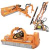 slagklippare med hammarslagor för traktorer släntklippare med justerbar sidoförskjutning kantklippare hydrauliska häcktrimmare betesputsare