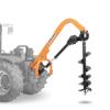 jordborr för traktor med utbytbara borr